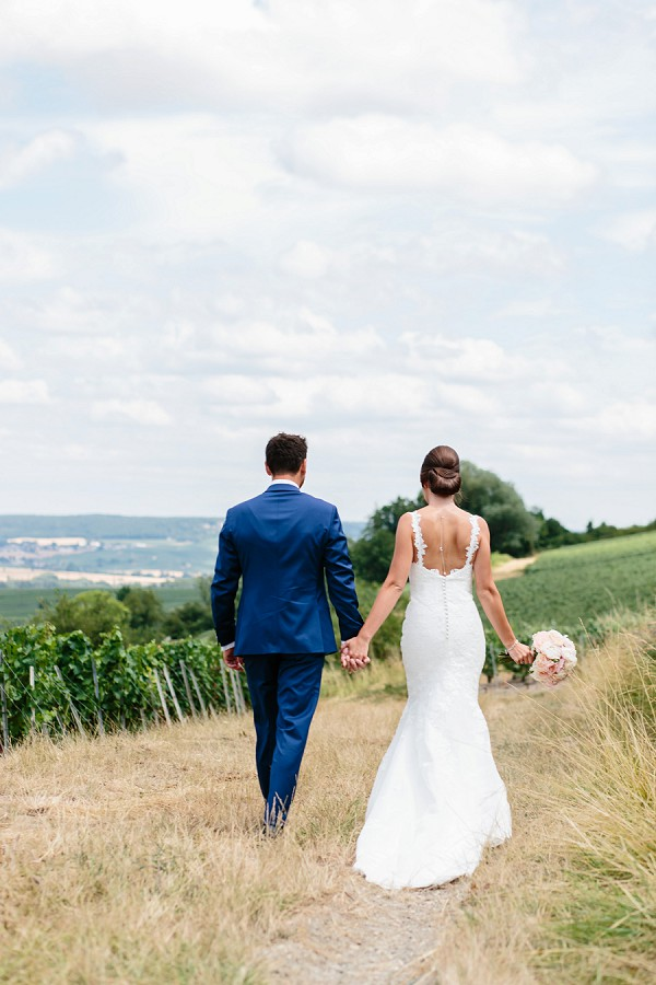 elegant countryside wedding