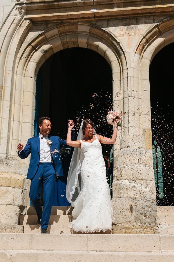 natural wedding confetti