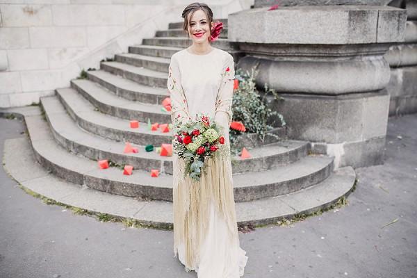 romantic wedding ideas Paris