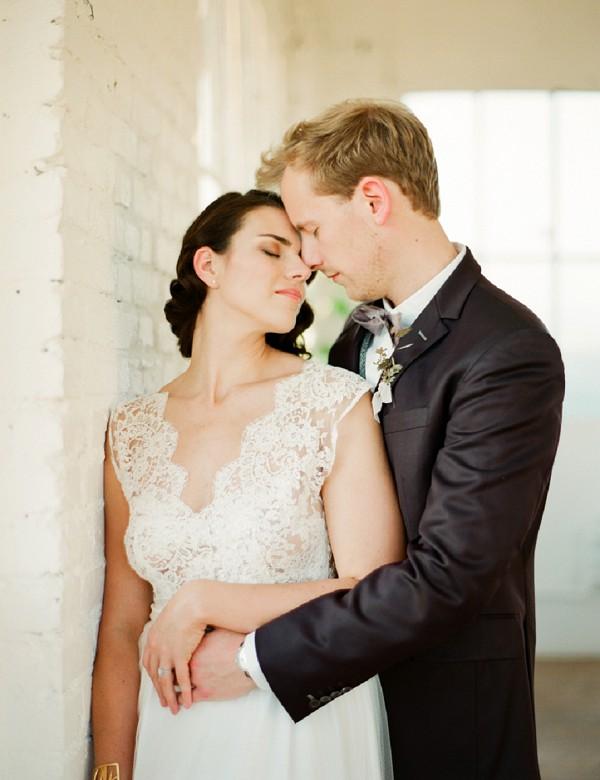 romantic wedding shoot
