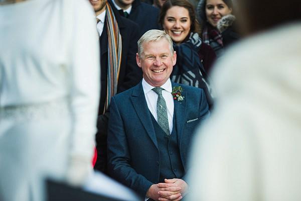 tweed tie wedding
