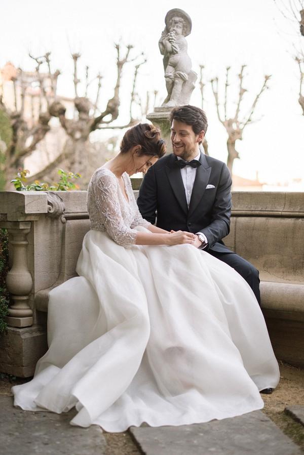 Black Tie Luxury Villa Florentine Wedding Inspiration
