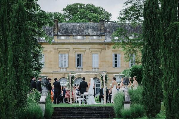 Chateau La Durantie ceremony