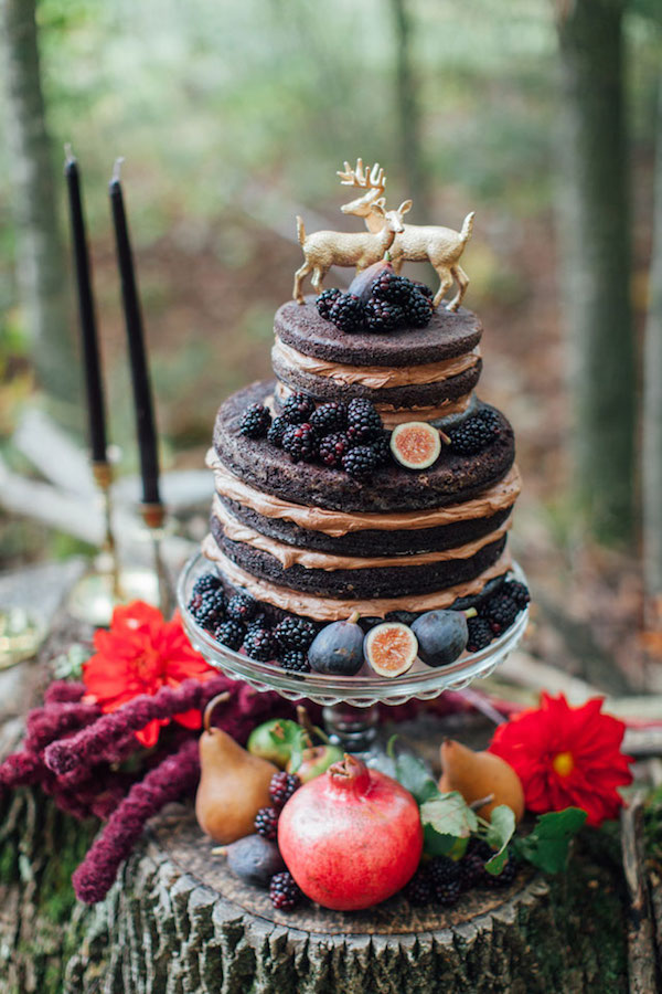 French Autumn Wedding Ideas Wedding Cake