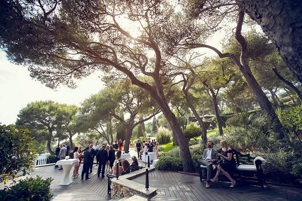 Grand Hotel Du Cap Ferrat International Wedding French Wedding Style