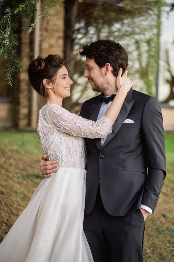 Jimmy Choo bride
