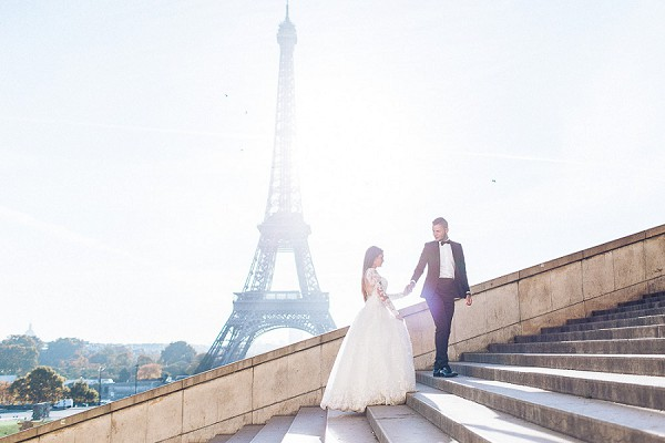 Paris couple shoot