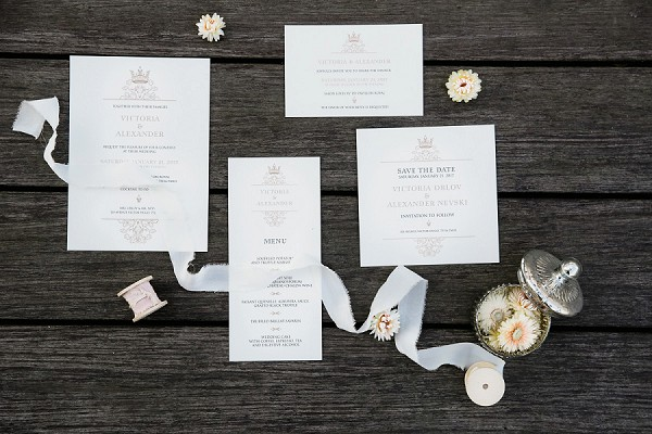 Paris wedding invite