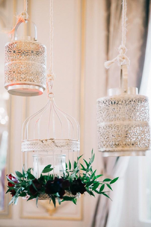 Romantic wedding styling