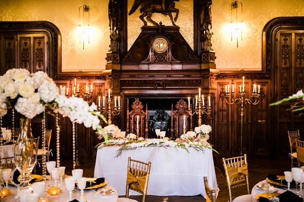 Royal wedding inspired decor