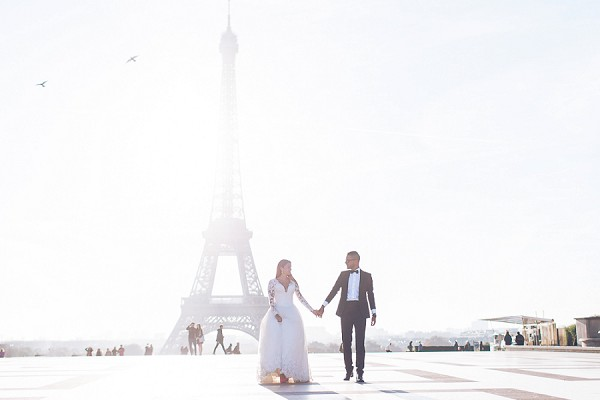 Stylish Post Wedding Celebration in Paris