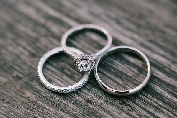 Trio wedding rings