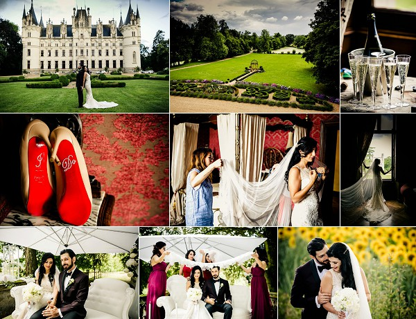 Unique Chateau Challain Destination Wedding Snapshot