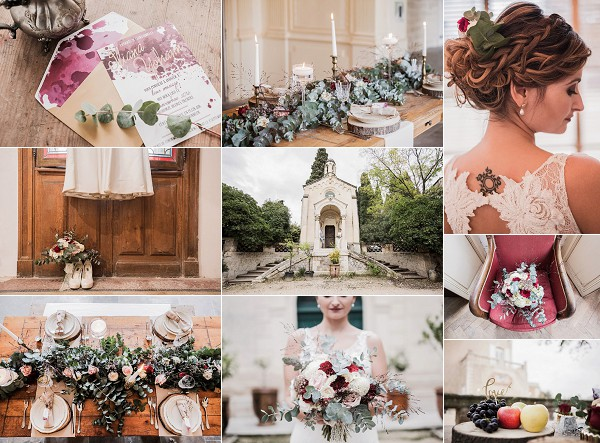 Warm Autumn Hues For A Rustic French Wedding Snapshot