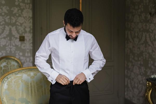 bow tie wedding france