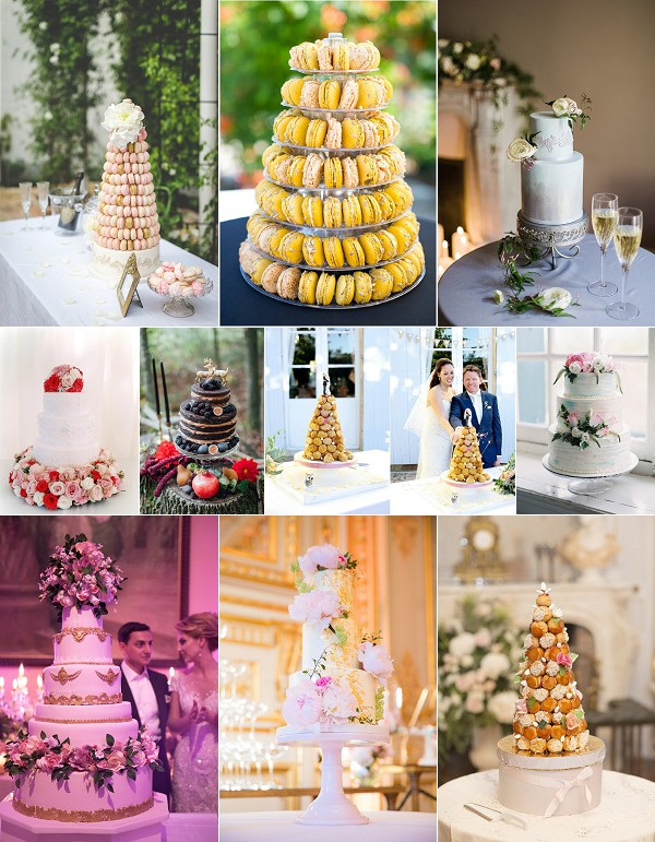 delicious French wedding cake roundup snapshot