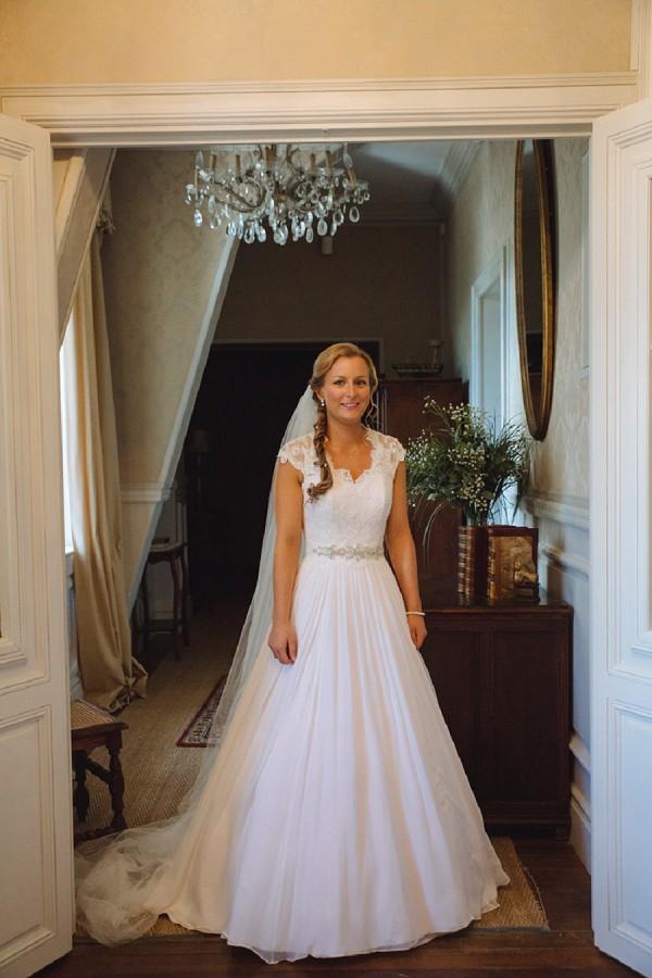 elegant bridal dress