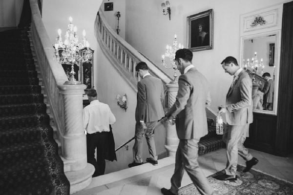 elegant chateau wedding