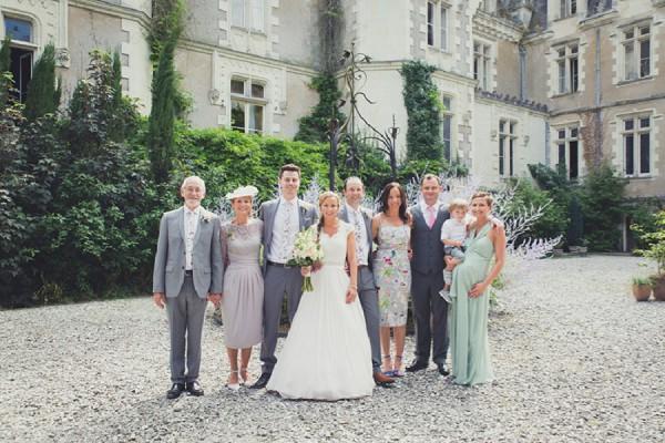 family portraits wedding