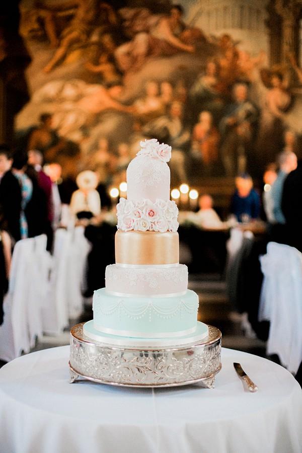 luxury wedding tier cake