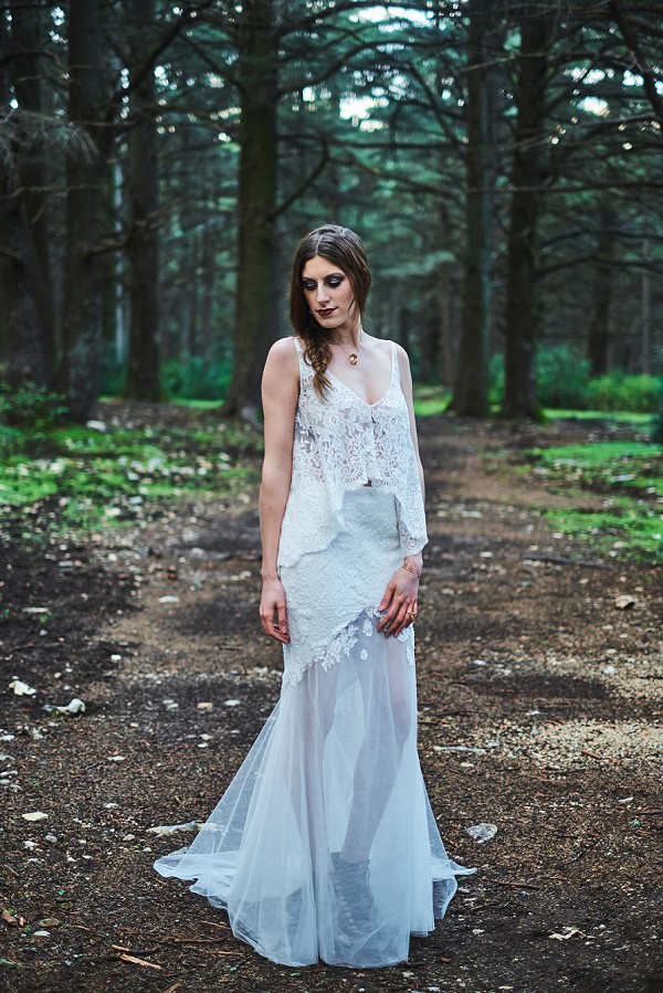 moody forest inspired shoot