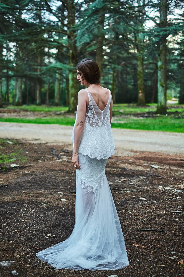 unique wedding gown