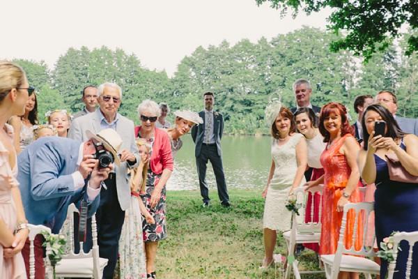 wedding guests ceremony