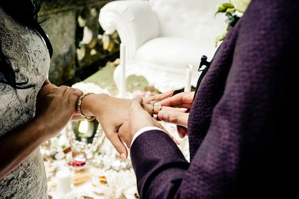 wedding ring duo