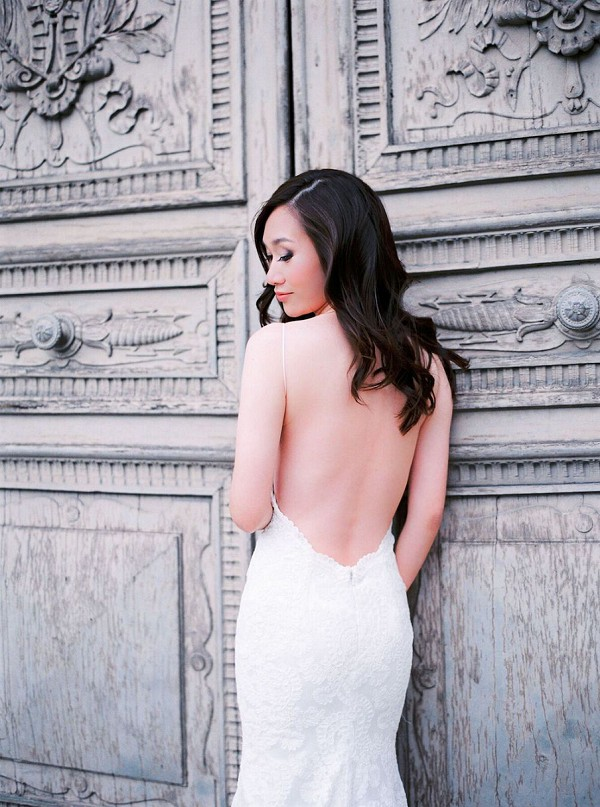 Backless Katie May dress