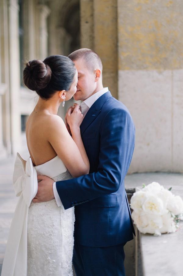 Bride droplet earrings
