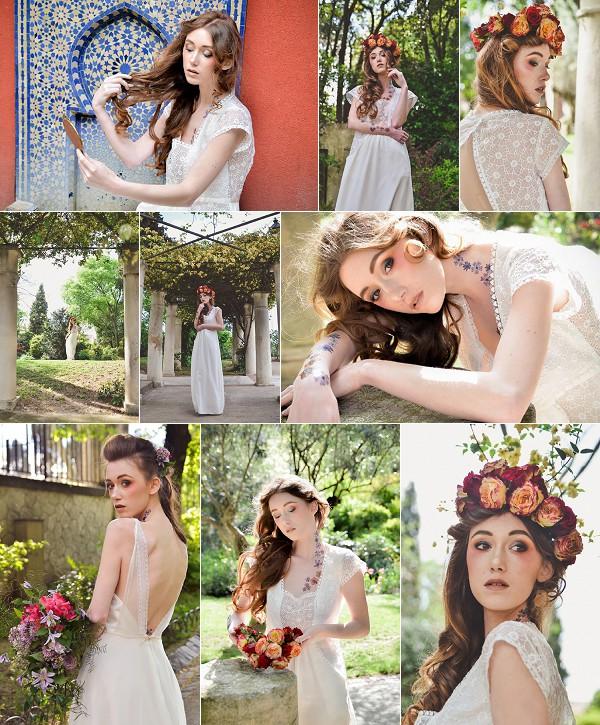 Flower Inspired Montpellier Wedding Shoot Snapshot