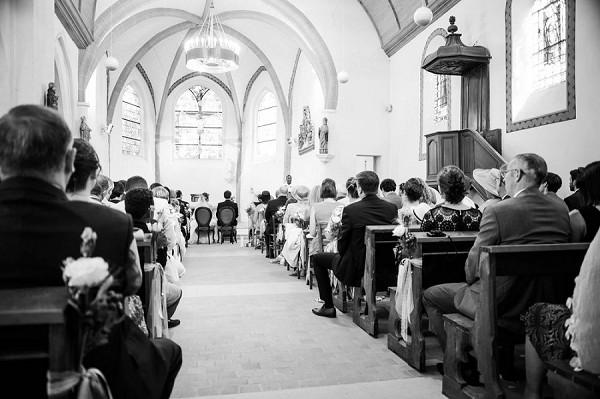French church ceremony