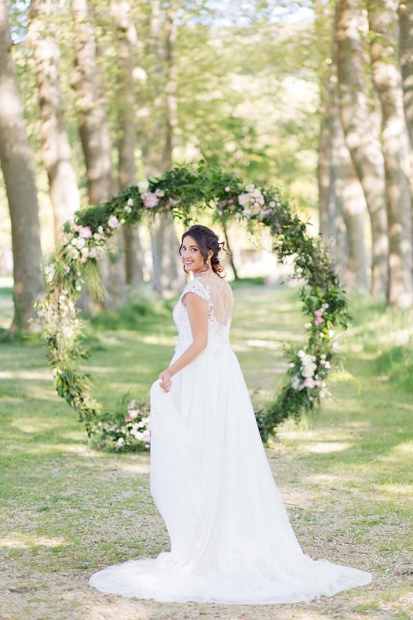 Luna Pearl Création bride