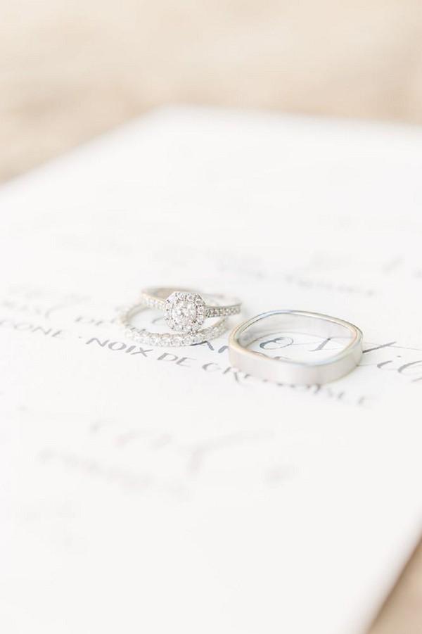 Mohedano wedding rings