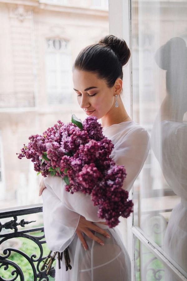 Paris Elopement Flowers
