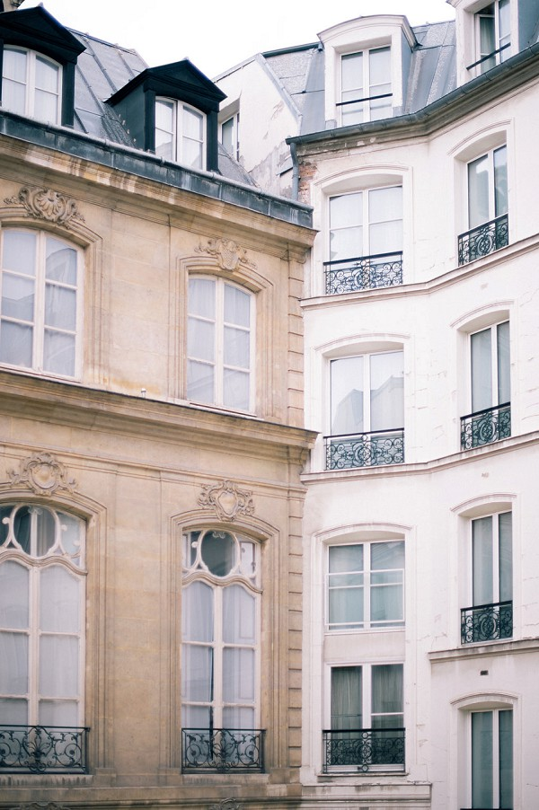 Paris real wedding