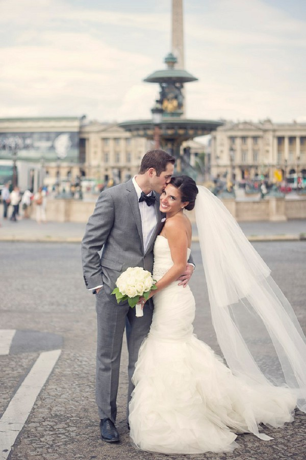 Paris wedding photos