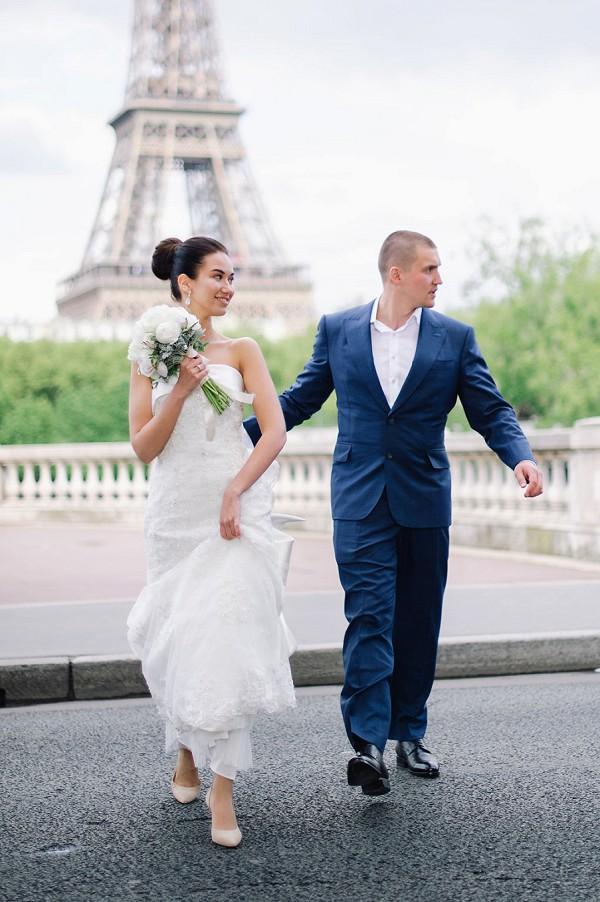 River Seine wedding