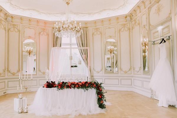 Pavillon Royal bridal suite