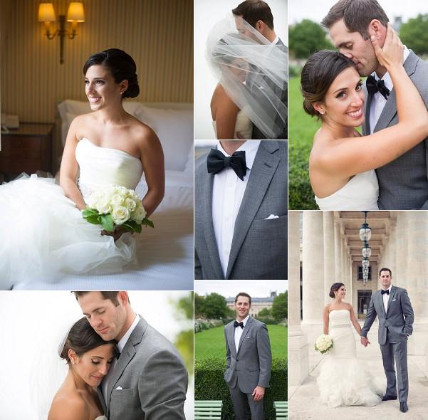 Romantic Chicago To Paris Destination Wedding Snapshot