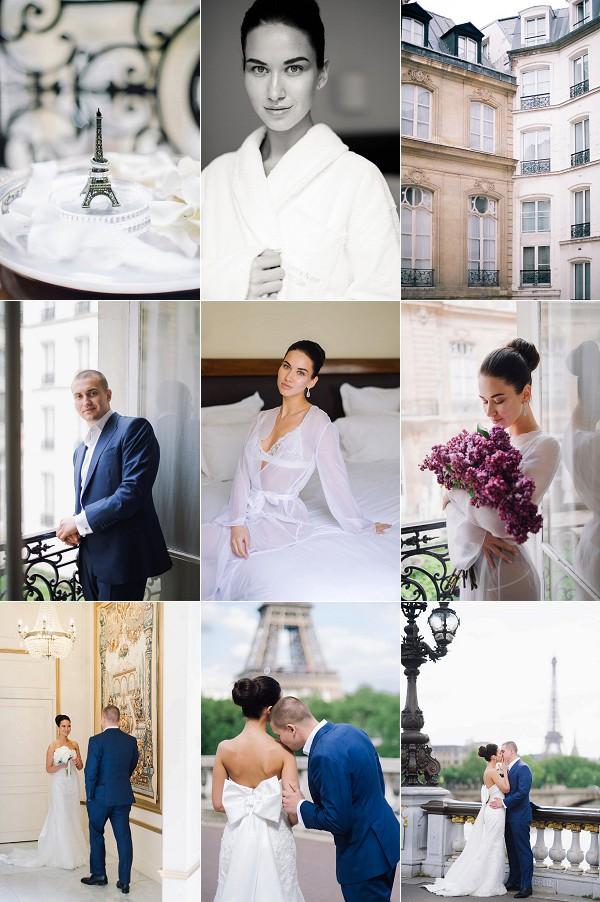Romantic Spring Elopement Ukraine To Paris Snapshot