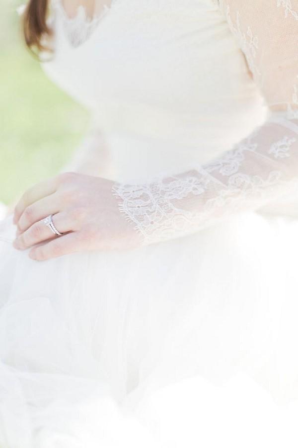 Toxan wedding dress detail
