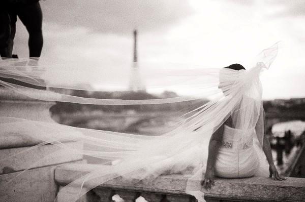 Vera Wang Paris Wedding