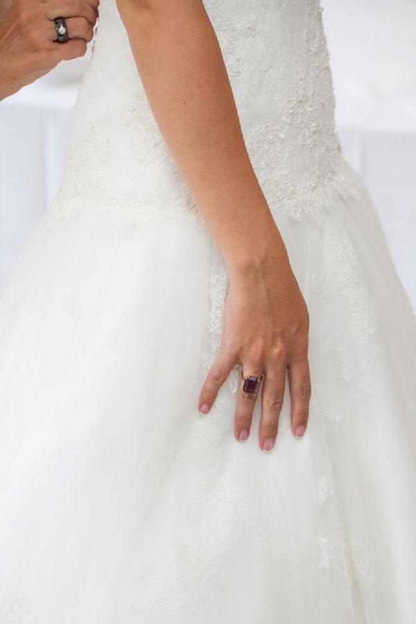 large engagement ring