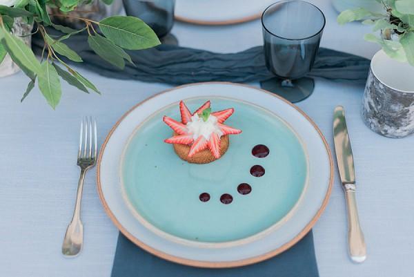 luxury wedding food