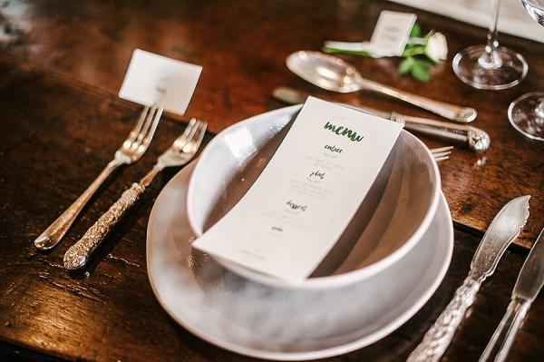 vintage cutlery wedding