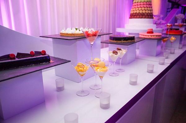 wedding day desert table