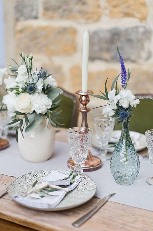 wedding day glass wear