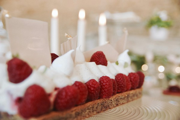 wedding desert