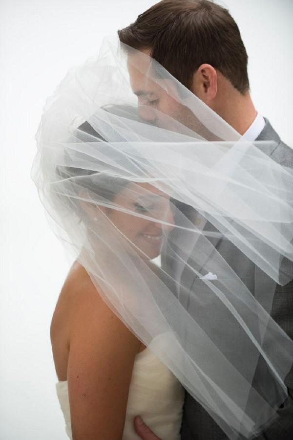 wedding veil photo